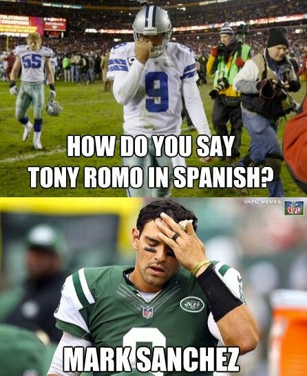 How do you say tony romo in spanish Football Memes