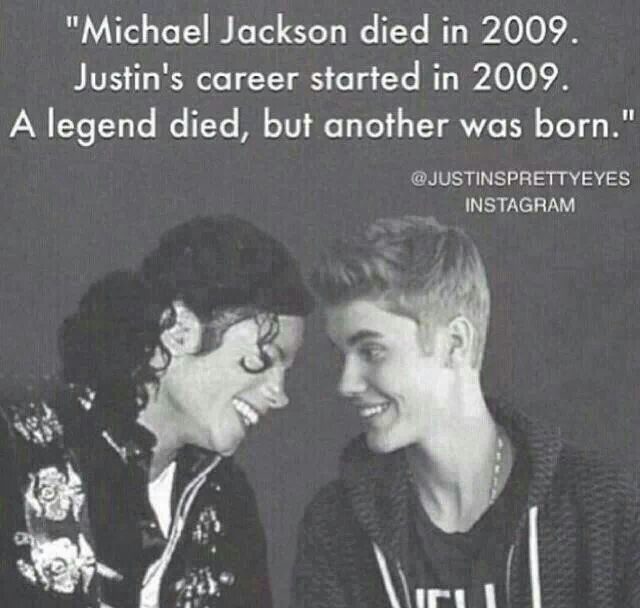 Justin Bieber Quotes Michael Jackson died in 2009