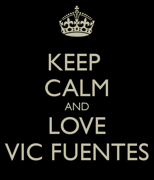 Keep calm and love Vic Fuentes (2)