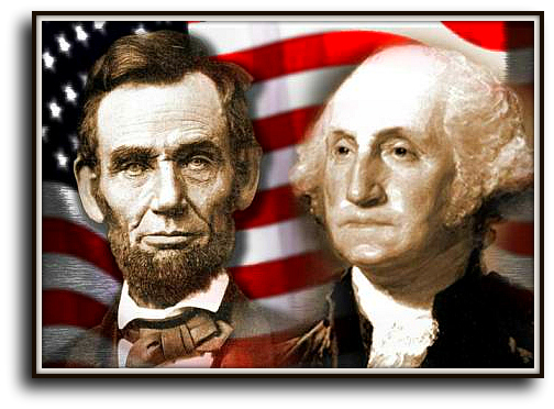 Lincoln And Washington President's Day Image