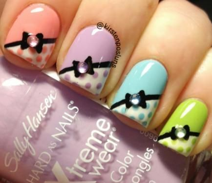 Marvelous Bow Nails