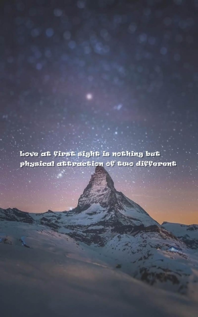 Mystery Quotes love at first sight is nothing but physical attraction of two different