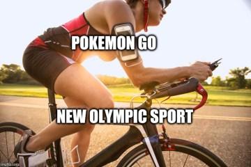 Olympics Memes pokemon go new olympic sport