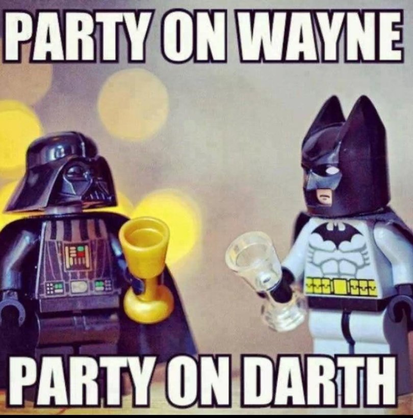 Party Memes party on wayne party on darth