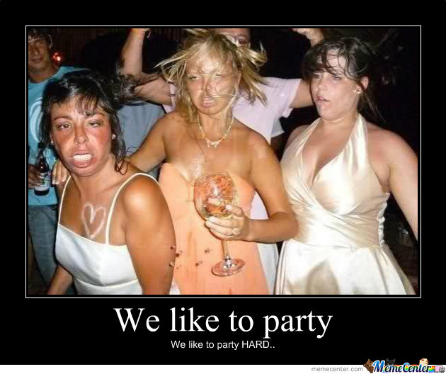 Party Meme We Like To Party We Like To Party Hard Picsmine
