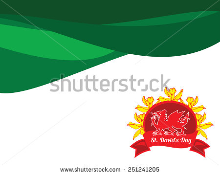 St David's Day Greetings Wishes Image