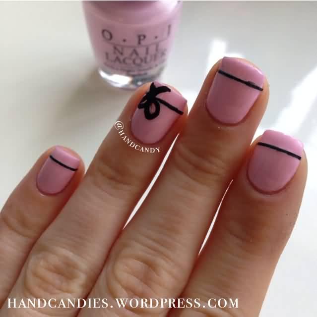 Stunning Bow Nails (2)