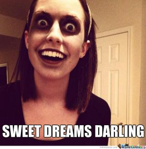 Sweet dreams darling Good Night Meme