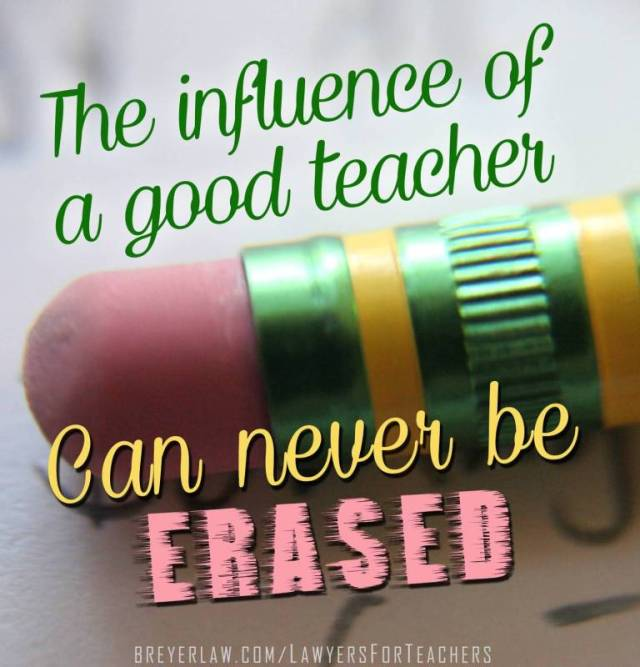 Teach Quotes the influence of a good teacher