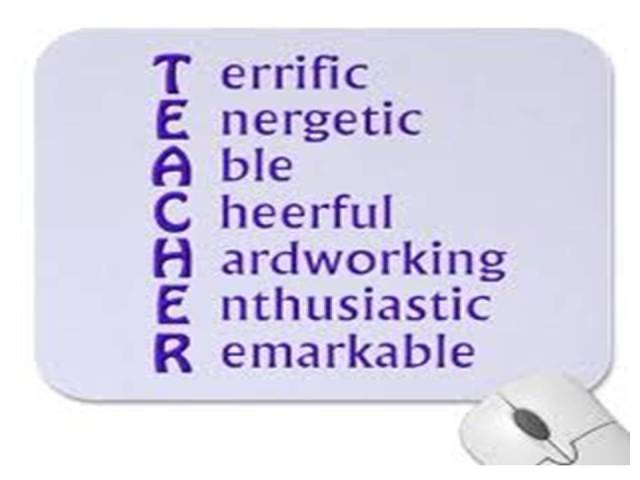 Teacher Sayings terrific energetic able cheerful