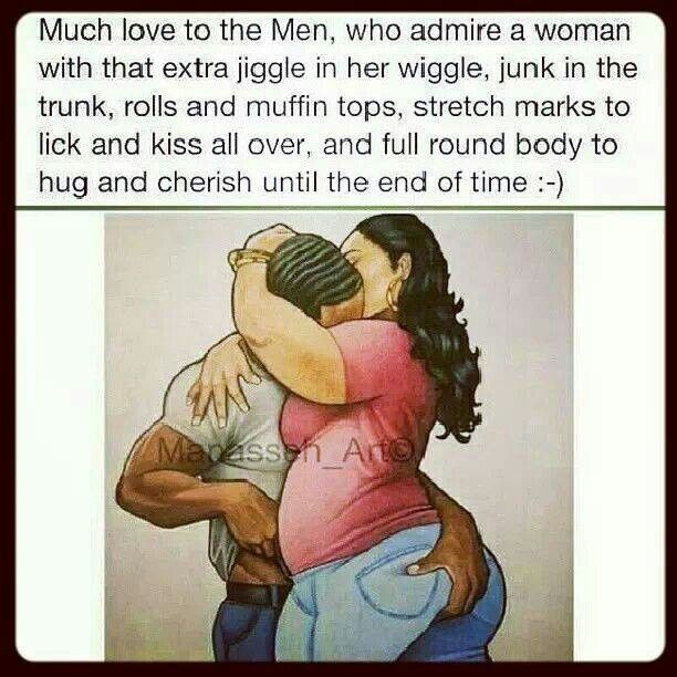Why men like thick women