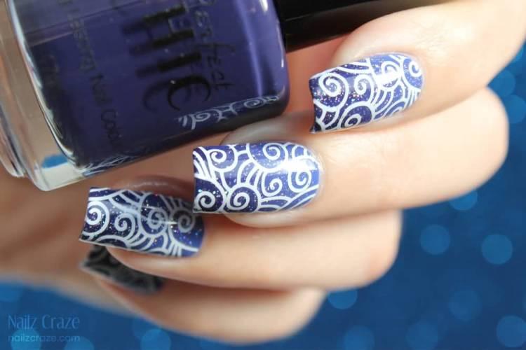 Tremendous Blue Nails (2)