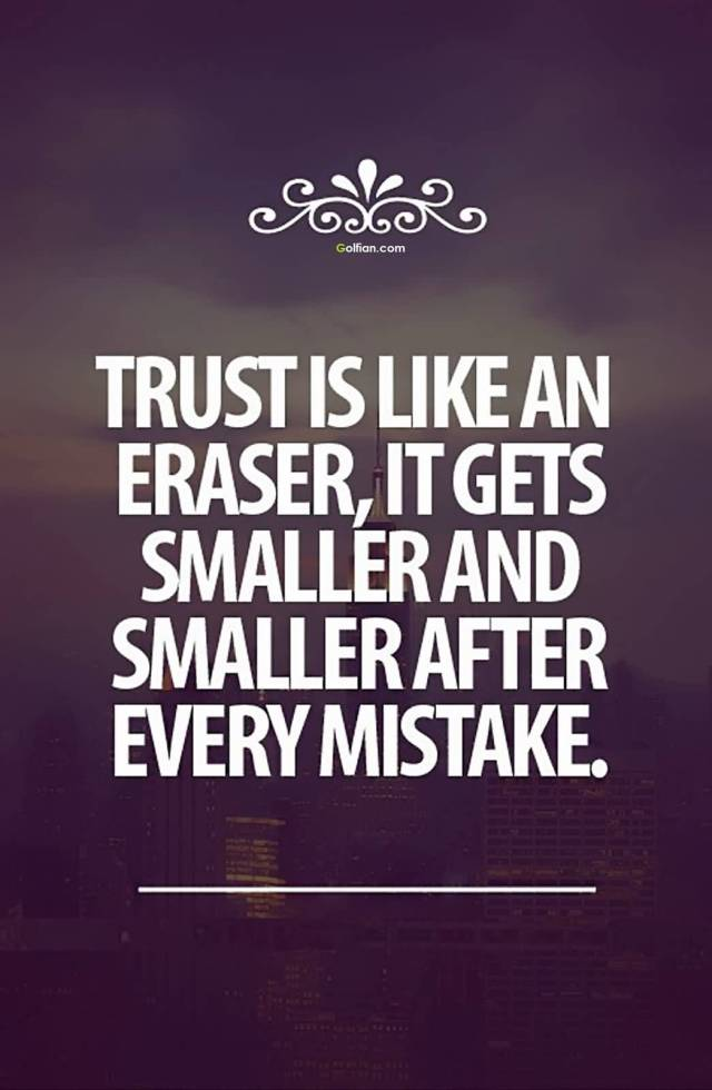 Trust Quotes Sayings 11