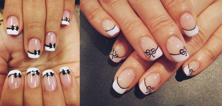 Unique Bow Nails