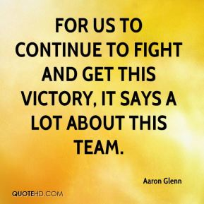Victory Sayings for us to continue to fight and get this victory it say