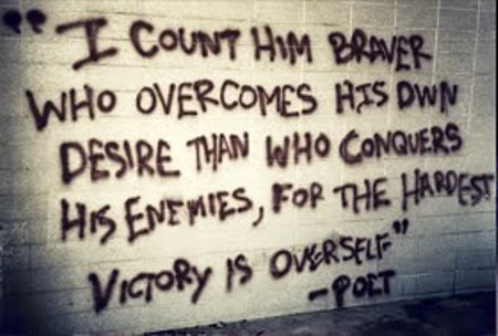 Victory Sayings i count him braver who overcomes his