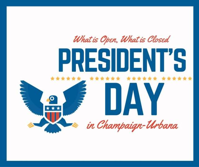 What Is Open What Is Closed Happy President's Day Image