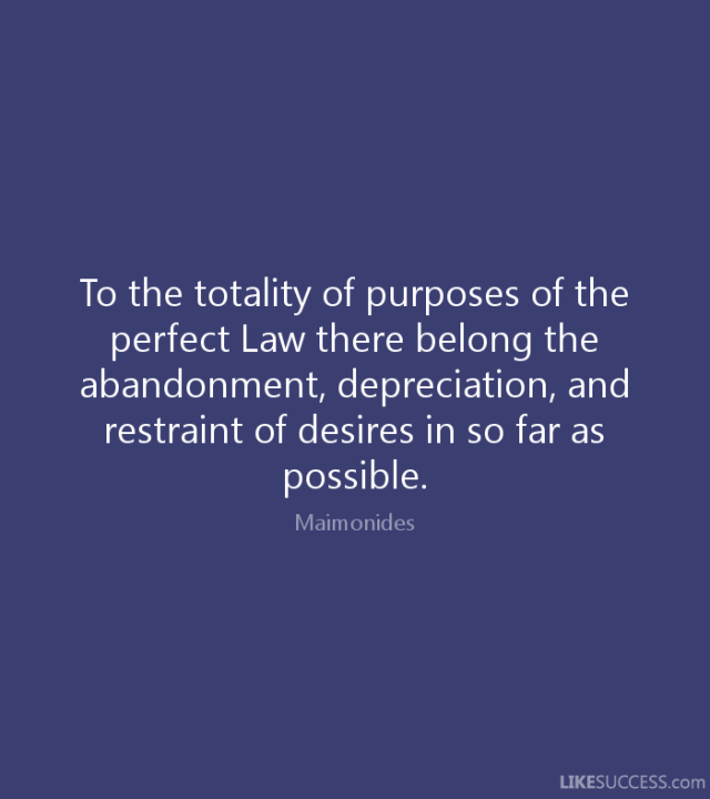 abandonment sayings to the totality of purposes of the perfect law there belong the abandonment