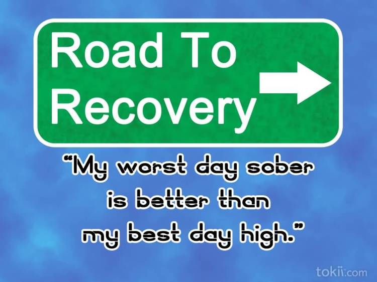addiction Quotes road to recovery my worst day