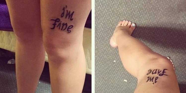 47 Inspiring Depression Tattoos Designs, Ideas, Images ...