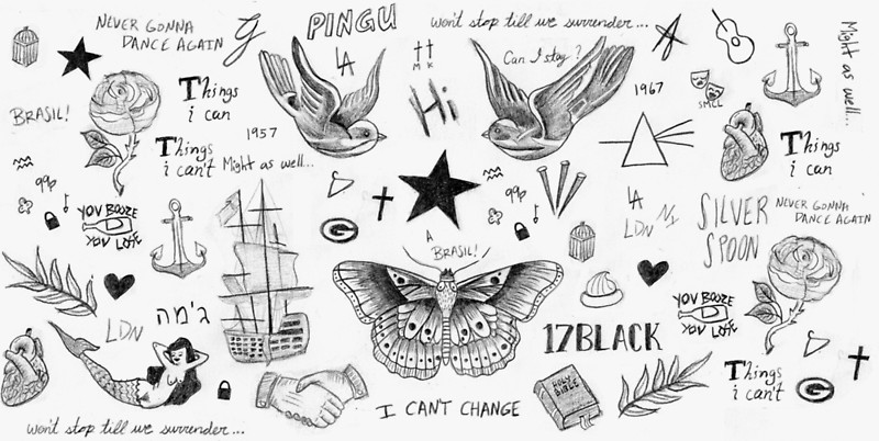 best ever harry styles tattoo for boys