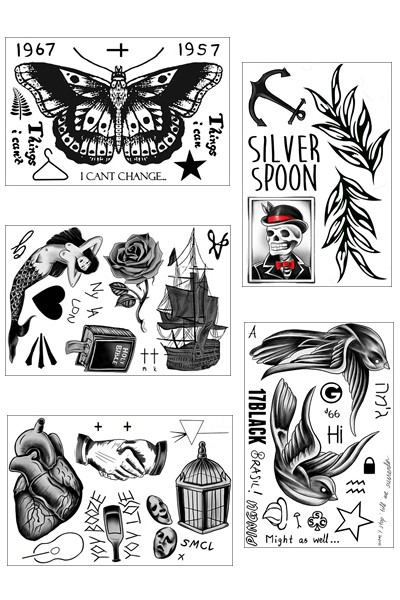 custom harry styles tattoo for boys