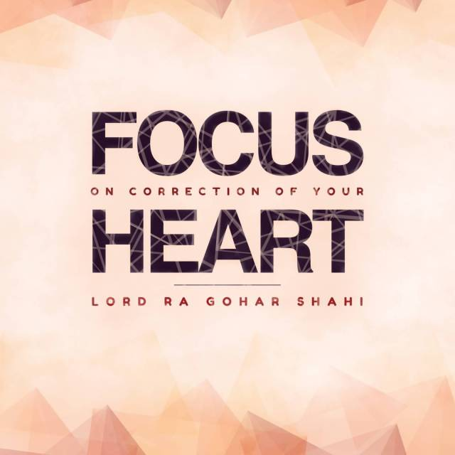 day sayings focus on correction
