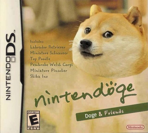 doge meme nintennod ds includes labrador retriever