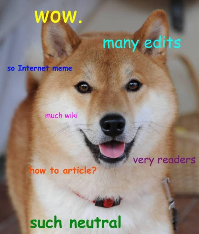 doge meme wow many edits so internet meme