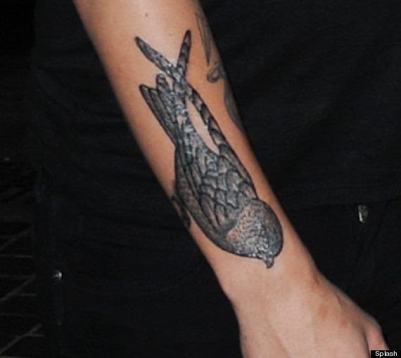 perfect louis tomlinson tattoo on arm