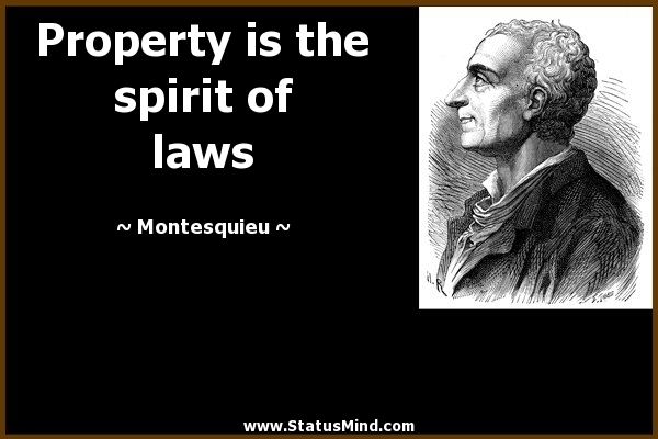 033 Montesquieu Quotes Sayings