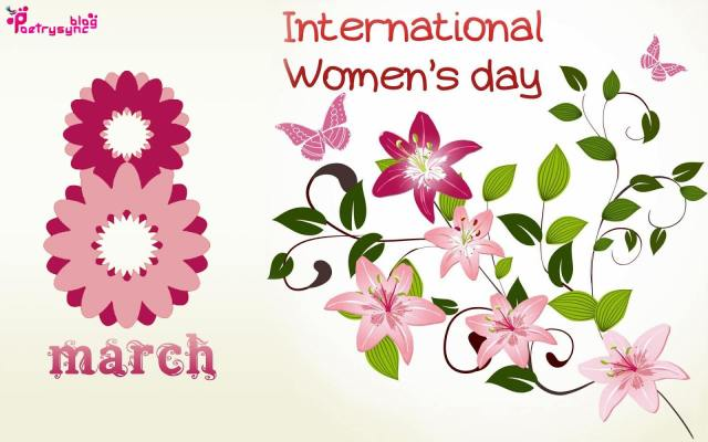 8 March Happy International Women's Day Wishes Image