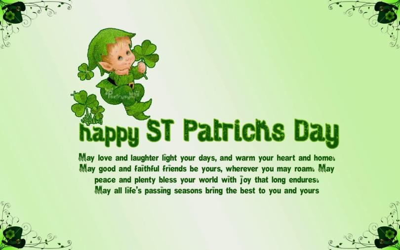 Adorable St. Patrick's Day Wishes Message