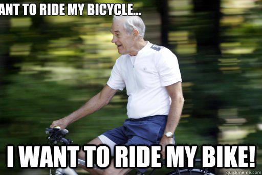 Ant to ride my bicycle i want to ride my bike Bike Meme