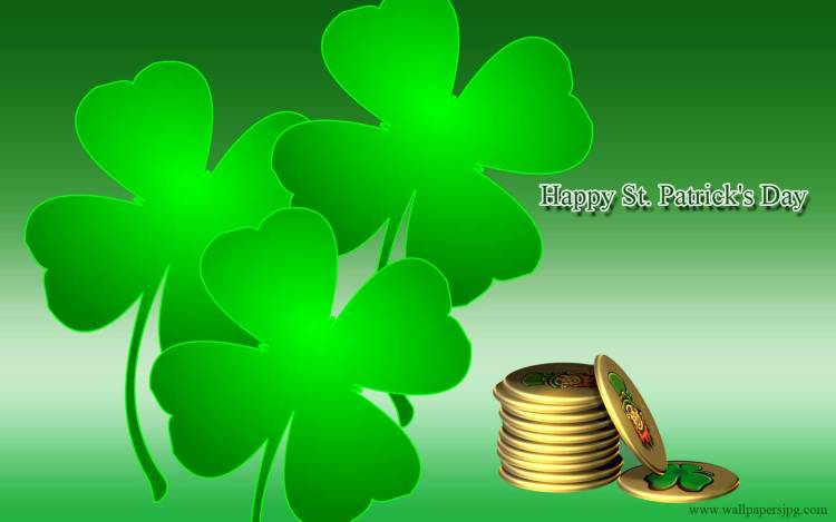 Best Wishes Happy St. Patrick's Day Greetings Image