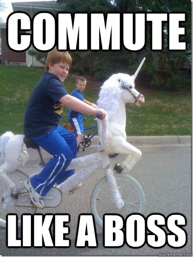 Bike Meme Commute like a boss
