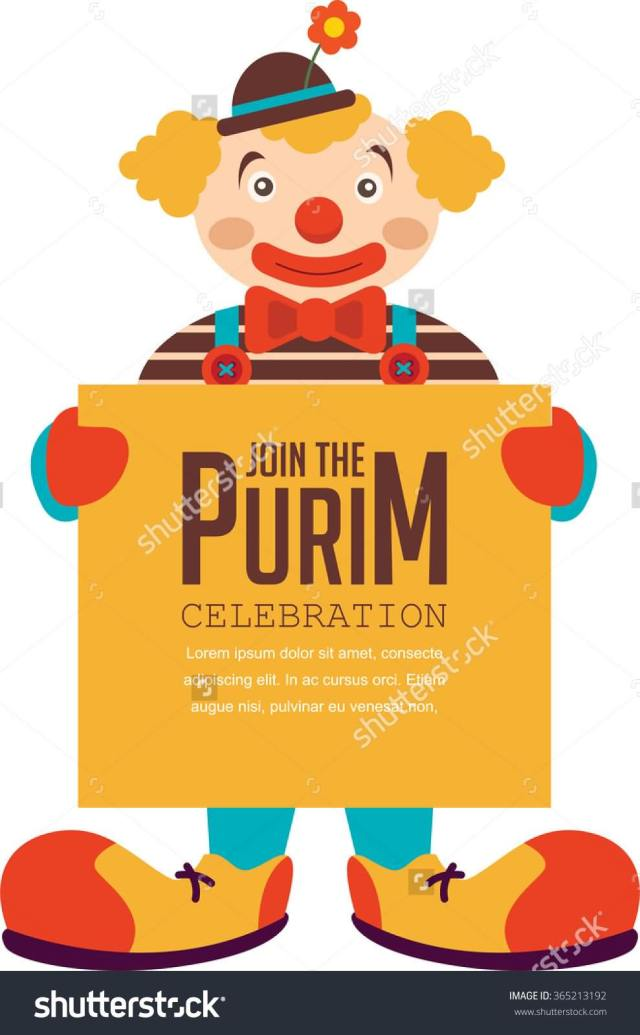Celebrate Purim Wishes Message Image