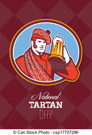 Celebration Happy Tartan Day Enjoy