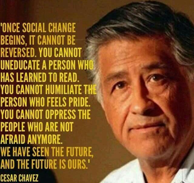 Cesar Chavez Quotes 73