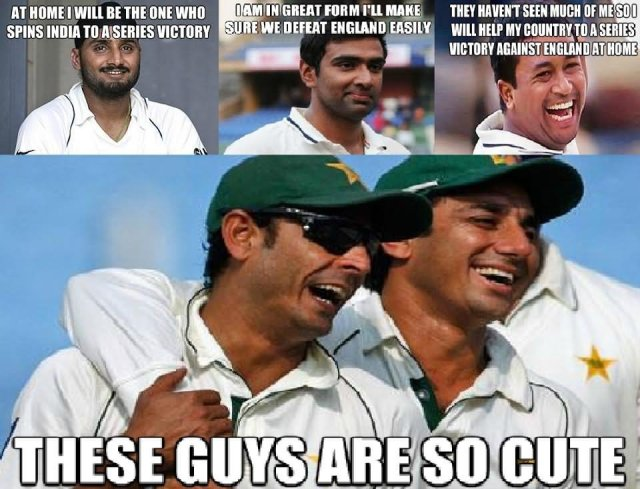 Cricket Memes At home i will be the one who spins India to a series victory