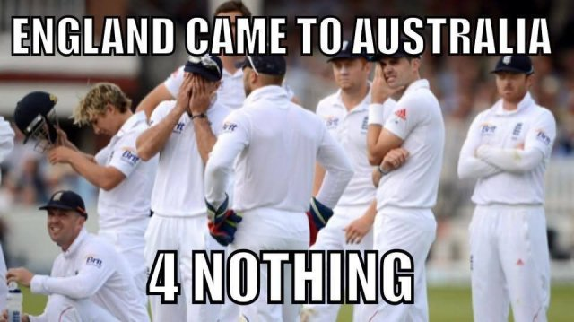 England came to Australia 4 nothing Cricket Memes