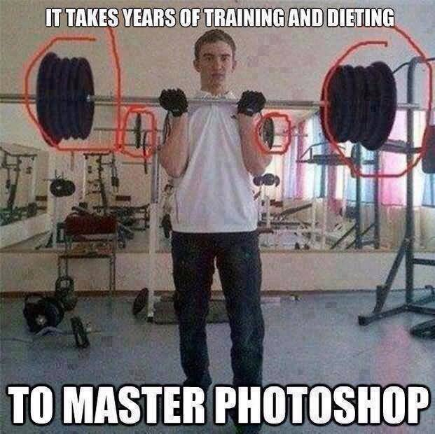 Exercise Meme It takes years of training and dieting to master
