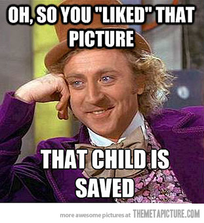 Facebook Meme Oh so you liked that picture