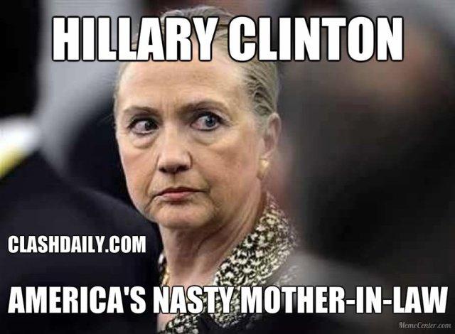 Funny Hillary Clinton Meme hillary clinton america's nasty