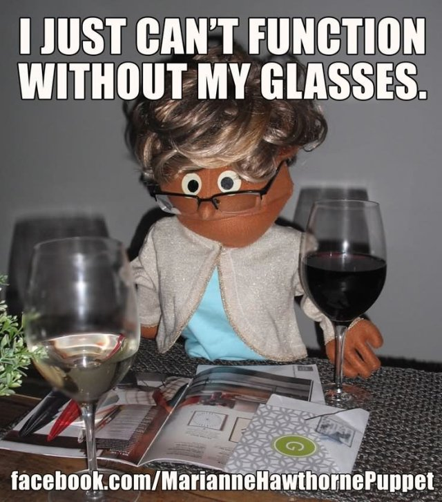 Glasses Memes I just can't function without my glasses