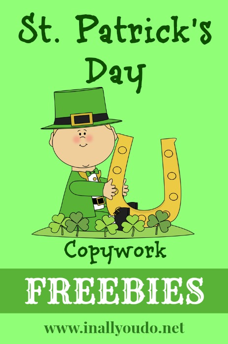 Handmade Happy St. Patrick's Day Card Image
