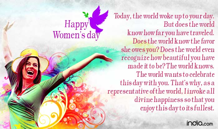 Happy Women's Day Wishes Quotes Image