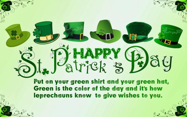 Have A Happy St. Patrick's Day With Love Greetings Message
