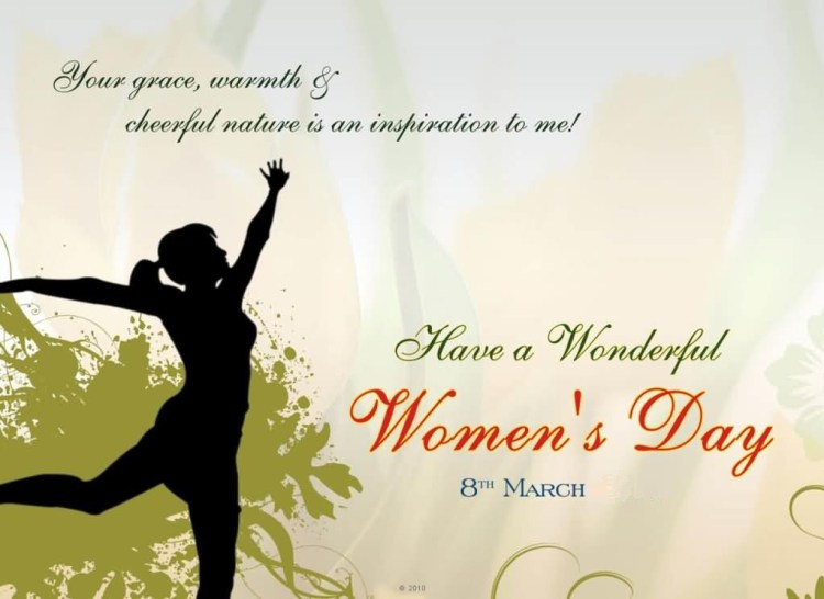 Have A Wonderful Women's Day Wishes Greetings Image