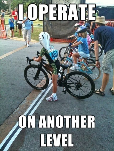 I operate an another level Bike Meme